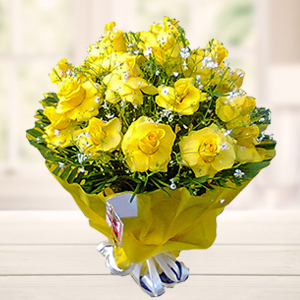 bouquet-of-yellow-roses-flowers-India