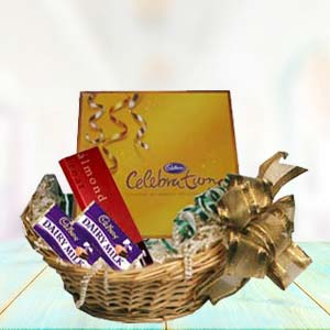 Cadbury Basket: Gift Sirsa,  India