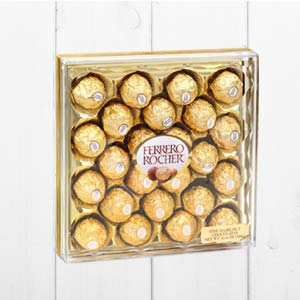 Ferrero Rocher 24 Pieces: Gift Bangalore,  India