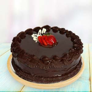 1lb Chocolate Cake: Anniversary-chocolates  India