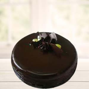 1 Lb Pure Chocolate Cake: Gift Jhansi,  India