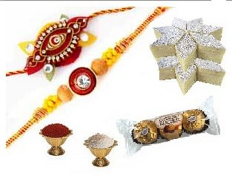 Rakhi Chocolate & Kaju Katli : Rakhi Kochi,  India
