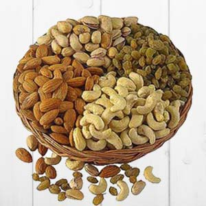 Dry Fruit Basket Big: Gift Bhopal,  India
