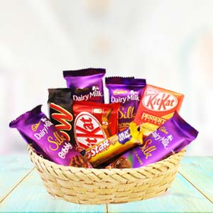 Chocolate Basket Mixed: Gifts Kota,  India