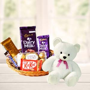 Teddy Combo: Valentine's Day Chocolates Jharsuguda,  India
