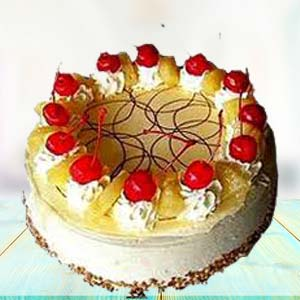 Special Pineapple Cake: Boss-day  India