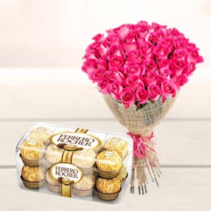 Valentine Bunch & Chocolate: Gift Khanna,  India