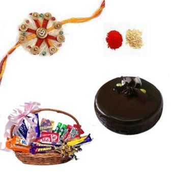 Hamper Of Sentiments: Rakhi Gurgaon,  India