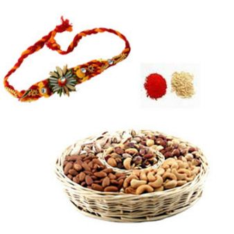 Rakhi Dry Fruits: Rakhi Mysore,  India