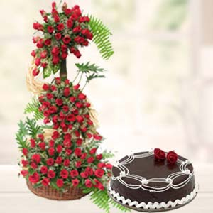 Online Cake Delivery In Chennai Flower Combo Gift India