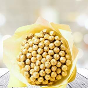 60 Ferrero Rocher In Bunch: Gift Faridabad,  India
