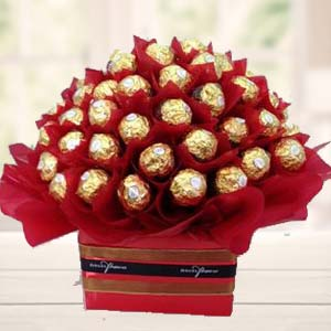48 Ferrero Rocher Choco In Bunch: Gift Jhansi,  India