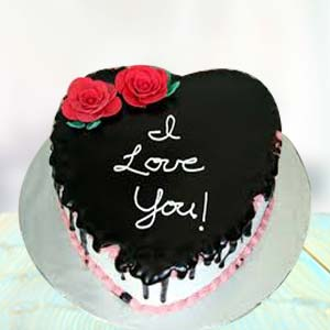 I LOVE YOU CHOCOLATE CAKE: Birthday-cakes  India