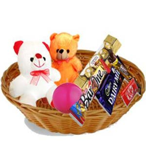 Teddy Combo Gift Hamper: Birthday  India