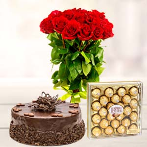 Ferrero Rocher Combo 24 Pieces: Valentine's Day Chocolates Allahabad,  India