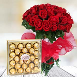 Valentine Chocolate Hamper: Rose Day Meerut,  India