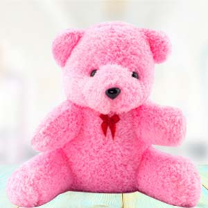 1 Feet Pink Teddy: Gift Ajmer,  India
