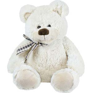 1 Feet White Teddy Bear: Soft-toys  India