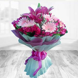 Bouquet Of Mix Flowers: Dussehra  India