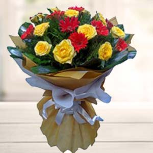 Bouquet Of Mix Flower: Gift Bangalore,  India