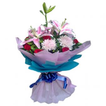 Mix Flowers: Gift Karnal,  India