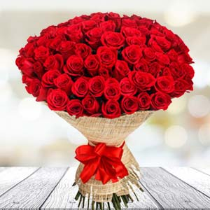 Bouquet Of 30 Red Roses: Gifts For Her Jammu,  India