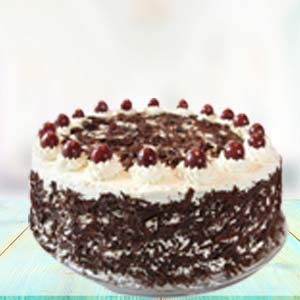 1 KG Black Forest Cake Cakes Trivandrum, India