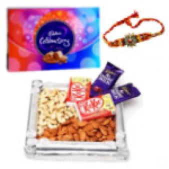 Chocolate Gift Hampers & Rakhi: Rakhi Sonipat,  India