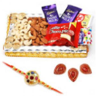 Best Rakhi Gift Hampers: Rakhi Raipur,  India