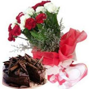 Carnations Combo: Birthday-gifts-for-him  India