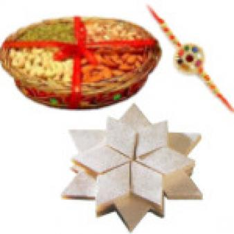 Raksha Bandhan Sweets & Dry Fruits: Rakhi Ujjain,  India