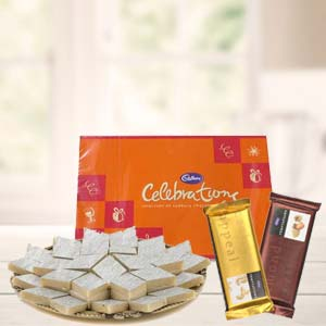 Sweets Combo With Cadbury Celebrations: Gift Ajmer,  India