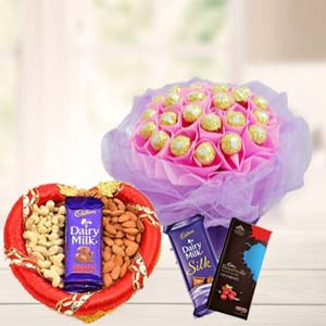 Ferrero Rocher Bunch Choco & Dry Fruit: Mothers-day  India