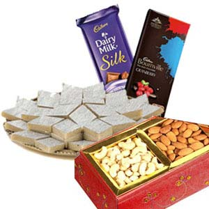 Medium Dry Fruits Box Combo: Gift Jaipur,  India