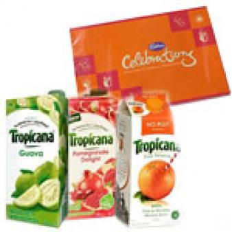 Three Tropicana Juice Combos: Gifts For Her Bhuvaneshwar,  India