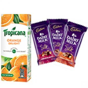 Tropicana & Dairy Silk Chocolates: Gift Kapurthala,  India