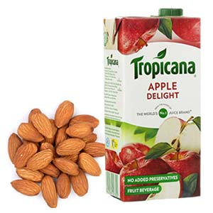 Tropicana Juice With Almonds: Diwali Gifts  India
