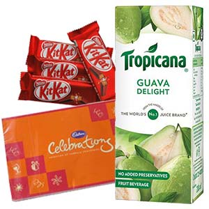 Tropicana Juice Chocolates Combos: Kids Cake Kapurthala,  India