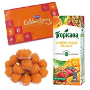 Tropicana And Sweets Combo: Gift Surat,  India