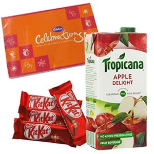 Tropicana Apple Juice Combo: Gifts For Sister  India