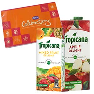Two Tropicana Juice Combos: Gift Delhi,  India