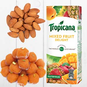 Tropicana Mixed Fruits Combo: Gift Vrindavan,  India
