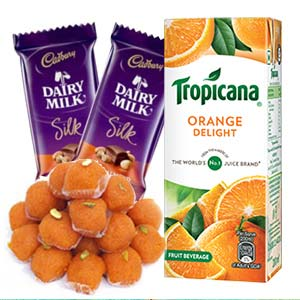 Tropicana Orange Juice Combo: Gifts For Her Faridabad,  India