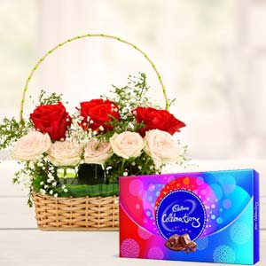 Roses Gift Combos: Gifts For Her Rohtak,  India