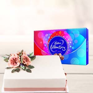 2 KG Cake Gifts Combo: Gift Bangalore,  India