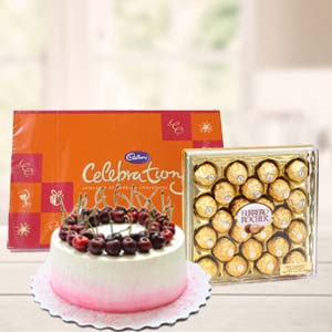 Regular Chocolate Combo Gifts: Gifts For Her Trivandrum,  India