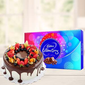 Cake Gifts With Celebrations: Gift Warangal,  India