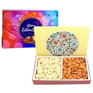 Dry Fruits With Celebration: Gifts For Her Visakhapatnam,  India
