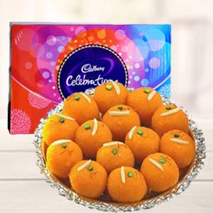 MotiChoor Ladoo With Celebration: Gift Bhatinda,  India