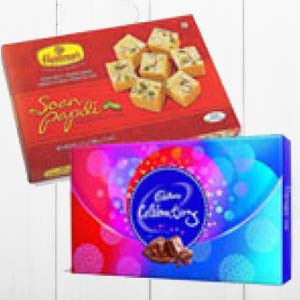 Haldiram With Chocolates: Rakhi Hyderabad,  India